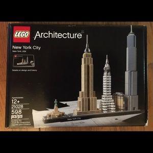 LEGO Architecture New York City set